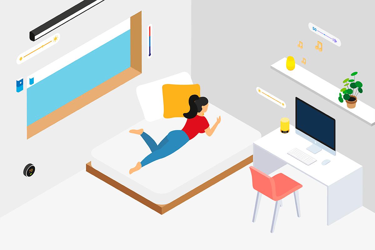 Diseño de dormitorios de juvenil