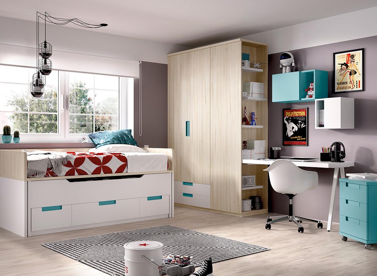Dormitorio juvenil de RIMOBEL
