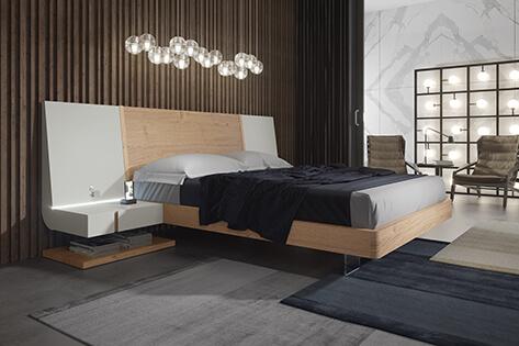 Dormitorio de matrimonio de Euromuebles Glogevi